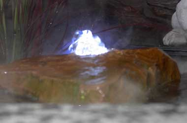 Ljusring i vattensten