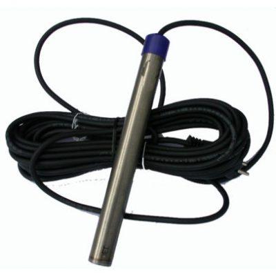 Dammvärmare i titanstål 100 W med 10 meter kabel