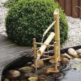 Dekorset Bambu set (utan pump och behållare)