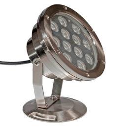 LED Spot Pro 12 W metall, vit