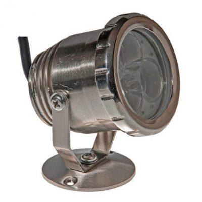 LED Spot Pro  3 W metall, vit