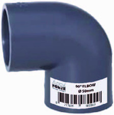 PVC limböjd 90°
